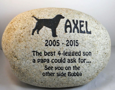 personalized-dog-memorial -stone