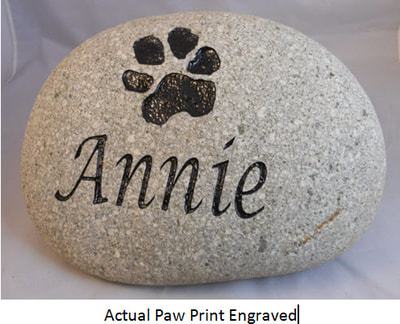 custom-engraved-rock-pet memorials