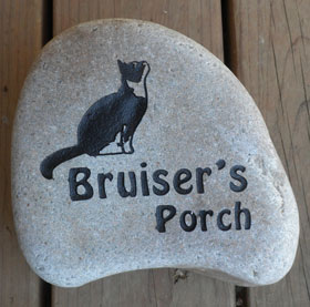 personalized-cat-memorial- stone