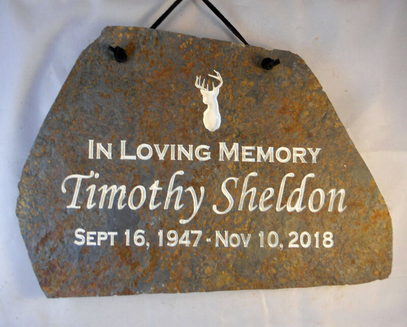 Customized Memorial Plaque